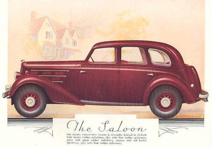 Morris Saloon red