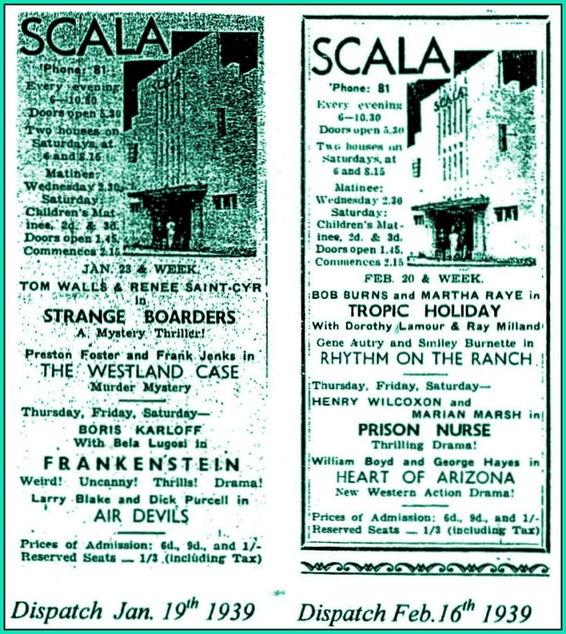 Scala Posters from 1939