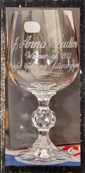 Engraved Goblet Winner 2013