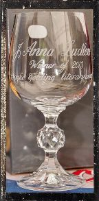 Inscribed Goblet Competition Winner