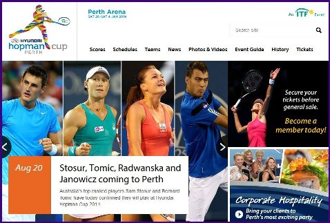 Hopman Cup Teams