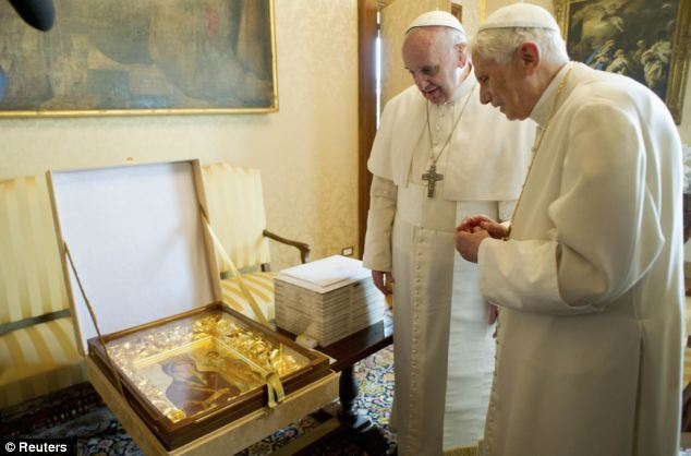 Two Pontiffs and an Icon