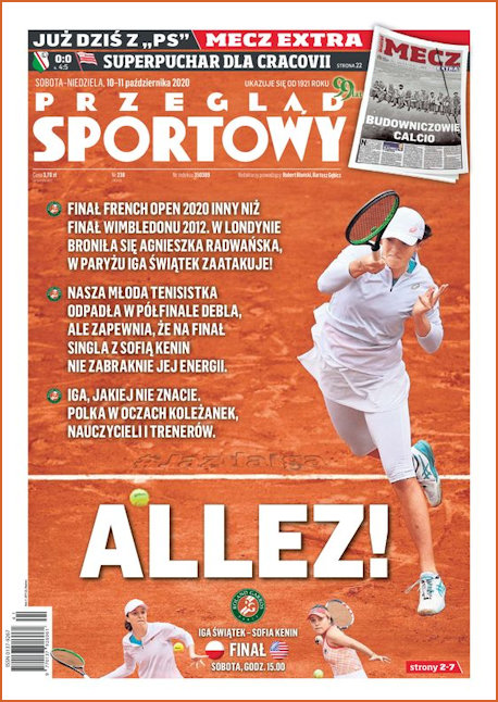 Sports Magazine 10th October 2020