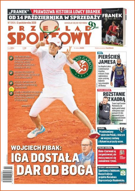 Sports Magazine 13th October 2020