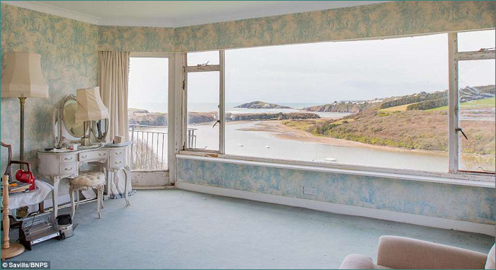 View looking at Burgh Island from House for Sale
