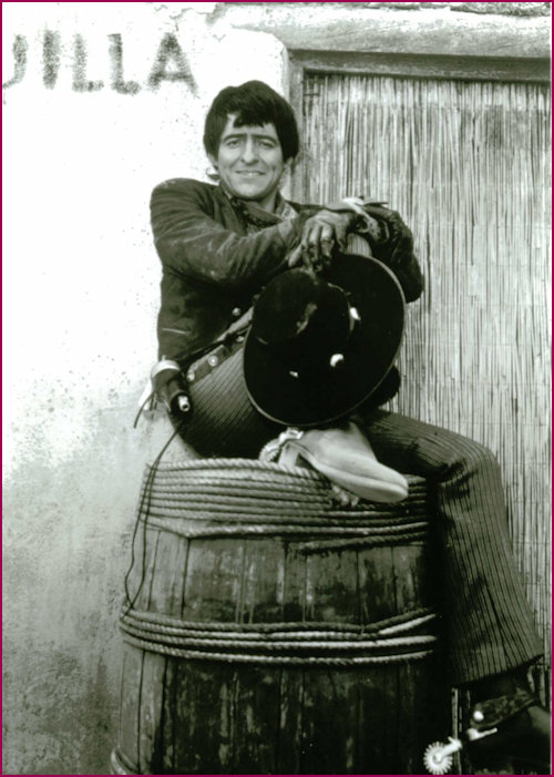 Henry Darrow as Manolito in the High Chaparral