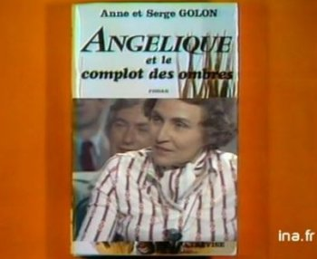 Promoting her new book Anne Golon on ina.fr tv