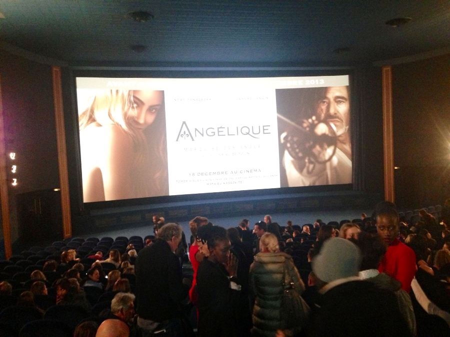 Fans filling the cinema