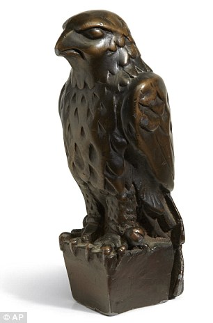 Maltese Falcon stauette for auction