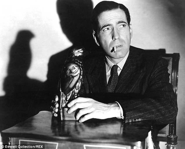Humphrey Bogart film still from the Maltese Falcon