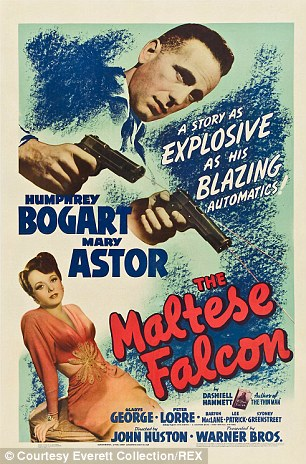 Maltese Falcon Film poster 1941