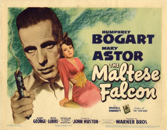 Film Poster of the Maltese Falcon 1941
