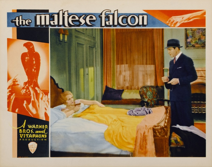 Film Poster of the Maltese Falcon 1931