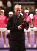 John McEnroe triumphs in the Legends 2013