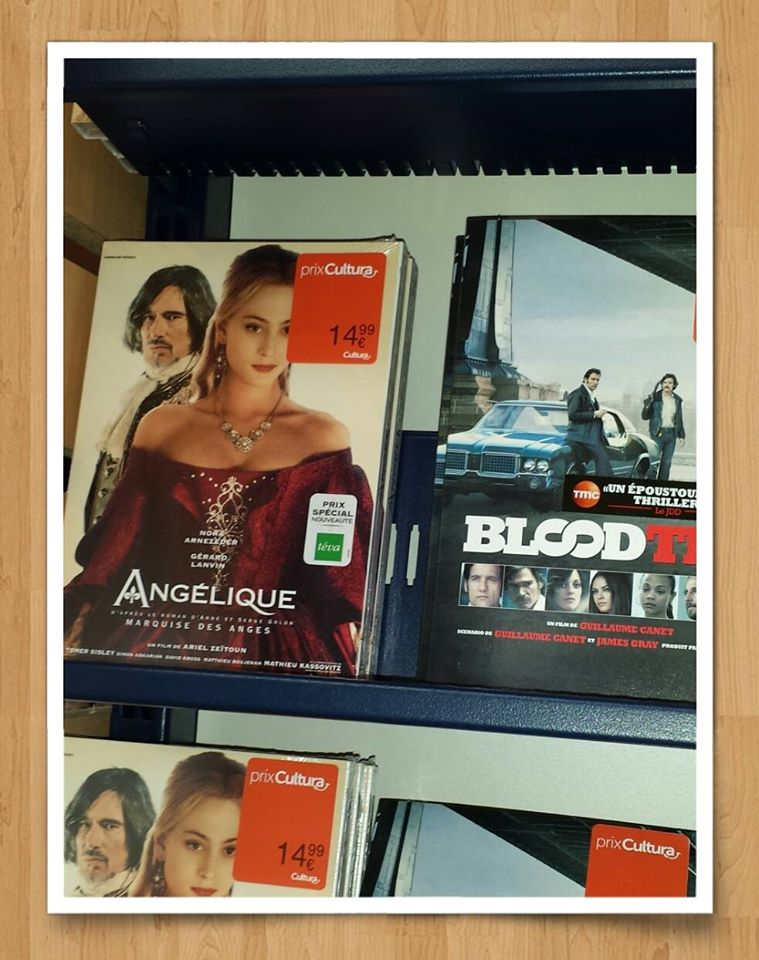 DVD on shop shelves