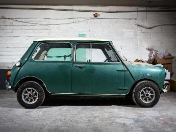 Mini before restoration
