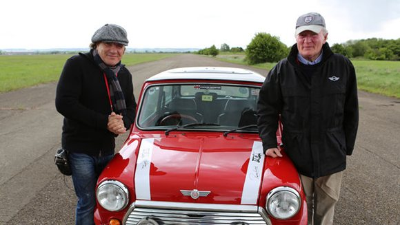Brian Johnson and Mini