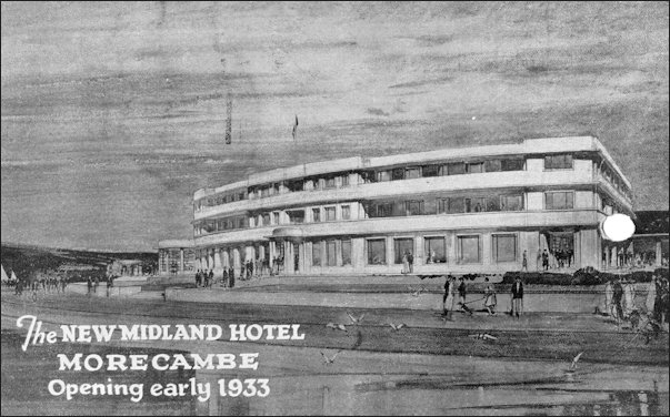 Announcing the opening of the new Midland Hotel