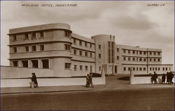 New Midland Hotel 1933 general view