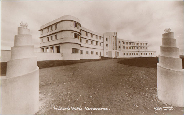 THe New Midland Hotel - 1933 entrance
