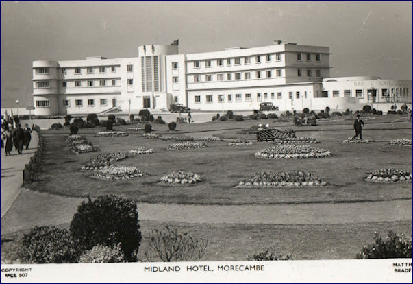 Midland Hotel from the public gardens