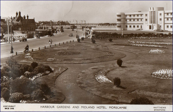 Midland Hotel and Harbour gardens