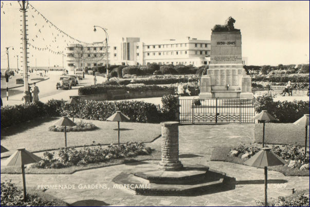Midland Hotel and Promenade gardens war memorial