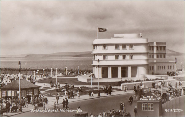 Midland Hotel and LMS enquiry office
