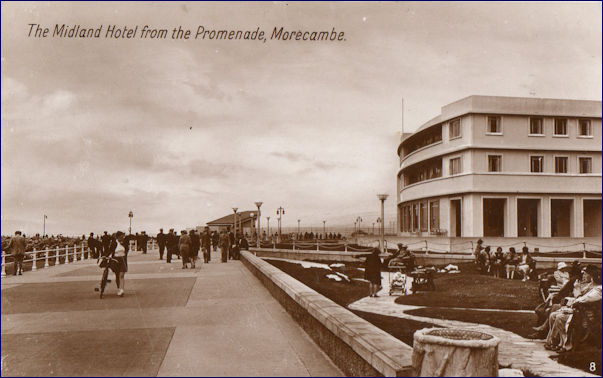 The Midland Hotel from the Promenade