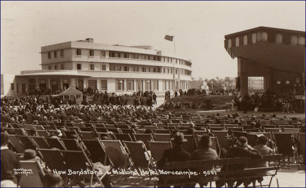 Midland Hotel and Harbour Bandstand