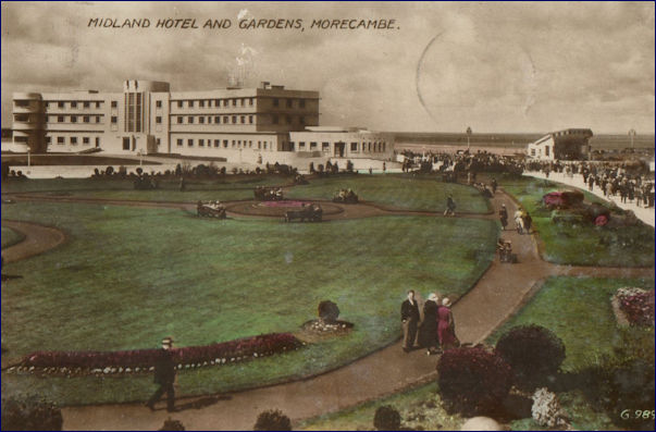 Midland Hotel early colour pc