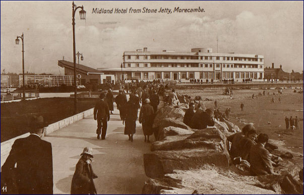 Midland Hotel from the Stone Jetty