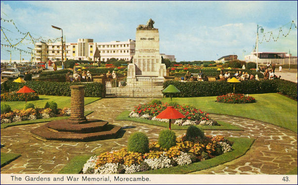 The Gardens and War Memorial