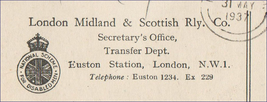Reverse of the bond card featuring an Edward VIII stamp