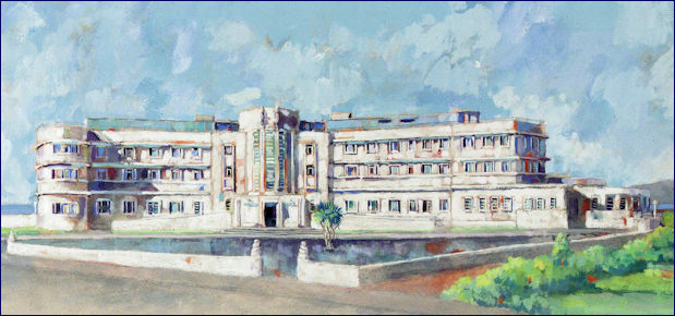 Painting of Midland Hotel