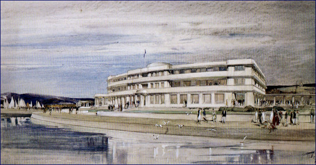 Drawing of MH from the rear